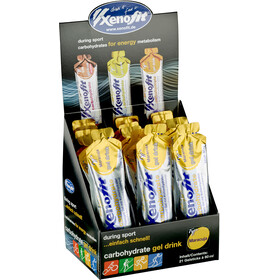 Xenofit Caja Geles Hydro Carbohidratos 21x60ml, Passion Fruit